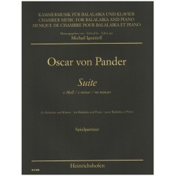 Pander, Oscar von: Suite e-Moll : für Balalaika und Klavier