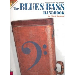 Epstein, Mark: The Blues Bass Handbook (+CD) : bass isntruction with tablature, chord, notes