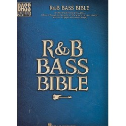 R & B bass bible : 32 great songs for bass with tablature, notes, chords