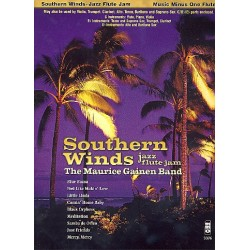 Music minus one flute : Southern winds, jazz flute jam (includes parts for b flat and e flat instruments)