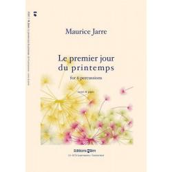 Jarre, Maurice: Le premier jour du printemps : for 6 percussions, score+parts