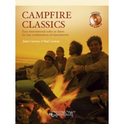 Curnow, James: Campfire classics (+CD) for C instruments (Flute, oboe and others) Easy instrumental solos or duets for any