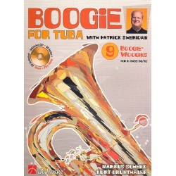 Schenk, Markus: Boogie for tuba (+CD) : for B Bass instruments BC/TC with Patrick Sheridan Brunthaler, Kurt, Koautor