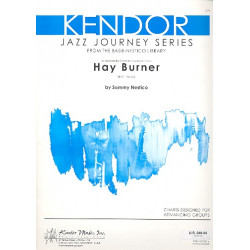 Nestico, Sammy: Hay Burner : for Jazz Ensemble score and parts Jazz Journey Series