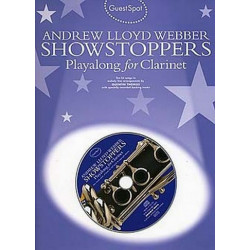 Lloyd Webber Showstoppers (+Cd) : for clarinet guest spot playalong