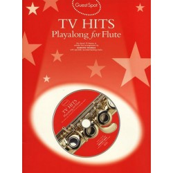 TV Hits (+CD): for flute Guest Spot Playalong