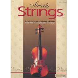 Dillon, Jacquelyn: Strictly Strings vol.1 : for viola (en)