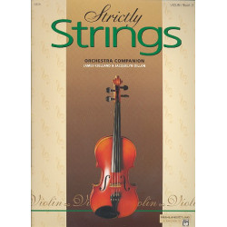 Dillon, Jacquelyn: Strictly strings vol.3 : for violin orchestra companion