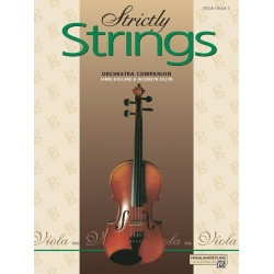 Dillon, Jacquelyn: Strictly strings vol.3 : for viola orchestra companion