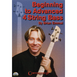 Emmel, Brian Lee: Beginning to advanced 4-string-bass : DVD-VIDEO