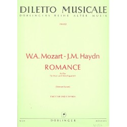 Mozart, Wolfgang Amadeus: Romance As-Dur für Horn und Streichquartett