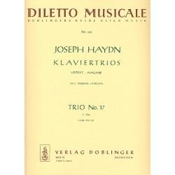 Haydn, Franz Joseph: Klaviertrio F-Dur Hob.XV:2