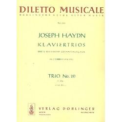 Haydn, Franz Joseph: Klaviertrio D-Dur Nr.20 Hob.XV:7 Stimmen