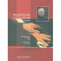 Szpilman, Wladyslaw: Introduction to a film for orchestra score