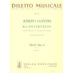 Haydn, Franz Joseph: Klaviertrio B-Dur Nr.21 Hob.XV:8 Stimmen