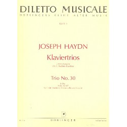 Haydn, Franz Joseph: Trio F-Dur Nr.30 Hob.XV:17 : für Flöte, Violoncello und Klavier