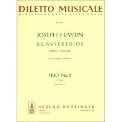 Haydn, Franz Joseph: Klaviertrio C-Dur Nr.2 Hob.XV:C1 Stimmen