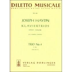 Haydn, Franz Joseph: Klaviertrio F-Dur Nr.4 HobXV:39 Stimmen