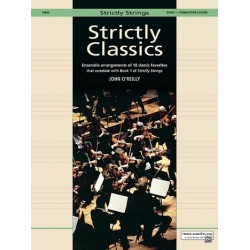 Strictly classics vol.1 : teacher's score for 2 violins, 2 violoncellos, 2 basses and piano O,Reilly, John, ed