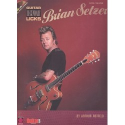 Setzer, Brian: Brian Setzer legendary guitar licks (+CD) : for guitar (notes and tab)