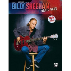 Sheehan, Billy: Basic bass : Buch und DVD Alfred's artist series