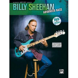 Sheehan, Billy: Advanced bass : Buch und DVD Alfred's artist series