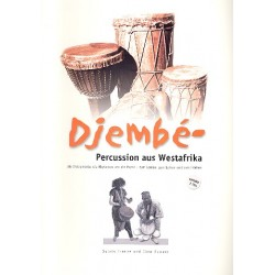Franke, Sylvia: Djembe-Percussion (+ 2 CD's) Instrumente, Rhythmen, Musik Schule