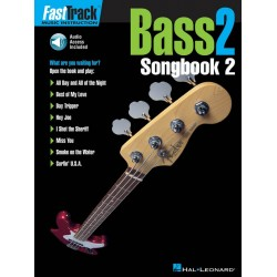 Bass 2 Songbook 2 (+CD) Fast track music instruction