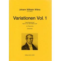 Wilms, Johann Wilhelm: Variationen Band 1 : für Klavier Drechsel, Oliver, ed
