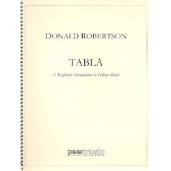Robertson, Donald: Tabla : A rhytmic introduction to Indian music