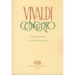 Vivaldi, Antonio: Konzert C-Dur RV537 für 2 Trompeten und Klavier