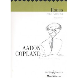 Copland, Aaron: 4 Dance Episodes from the Ballet Rodeo : für Klavier