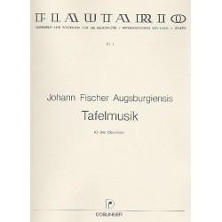 Fischer, Johann: Tafelmusik : f├╝r 3 Blockfl├Âten (ATB) Spielpartitur