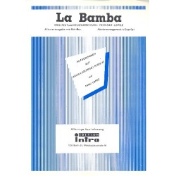 La Bamba : Einzelausgabe Gesang und Klavier