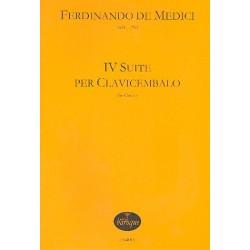 Medici de, Fernando: 4 suite : per clavicembalo 4 Suiten für Klavier
