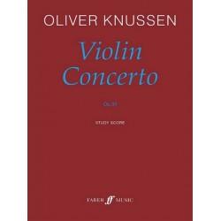 Knussen, Oliver: Violin concerto op.30 study score
