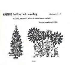 Halters festliche Liedersammlung : f├╝r Blasorchester Klarinette 2 in B