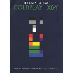 Coldplay X & Y : for piano solo It's easy to play