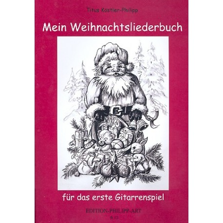 Bekannte Weihnachtslieder.Mein Weihnachtsliederbuch Für Gitarre 12 Bekannte Weihnachtslieder Dc Musicshop