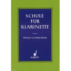Schneider, Willy: Schule für Klarinette