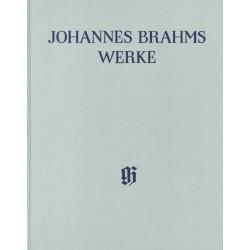 Brahms, Johannes: Gesamtausgabe Reihe 2 Band 3 Streichquartette op.51 und op.67 Partitur, Leinen mit kritischem Bericht
