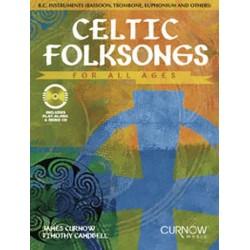 Celtic folksongs (+CD) : f├╝r C-Bass-Instrumente (Fagott/Tuba/Posaune/Euphonium etc.)
