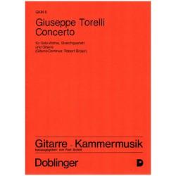 Torelli, Giuseppe: CONCERTO FUER VIOLINE, GITARRE UND STREICHQUARTETT 6STIMMEN