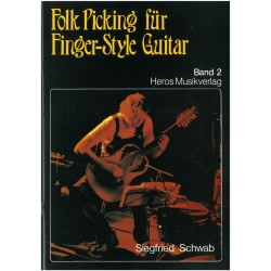 Schwab, Siegfried: Folk-Picking Band 2 : für Finger-Style Guitar