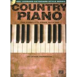 Harrison, Mark: Country piano (+CD) : The complete guide