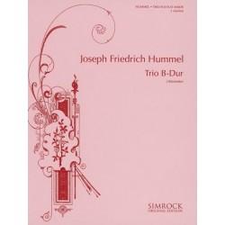Hummel, Joseph Friedrich: Trio B-Dur : für 3 Klarinetten Partitur und Stimmen