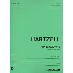 Hartzell, Eugene: Workpoints 3 : f├╝r Fl├Âte und Horn
