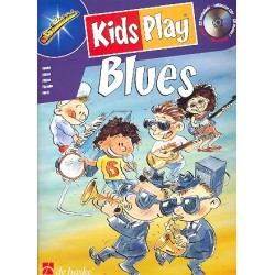 Kids play Blues (+CD) : f├╝r Fl├Âte