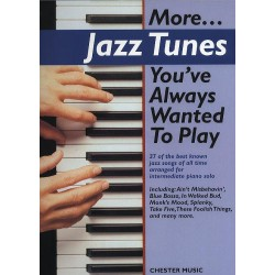 More Jazz tunes you've always wanted to play : for piano (with guitar chords)