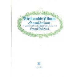 Weihnachts-Album : für Harmonium 21 Lieder mit Vor- und Nachspielen